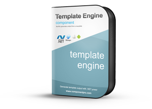 Template Engine Component for .NET
